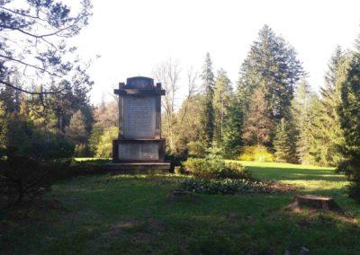 Arboretum Řícmanice - památník Stromy
