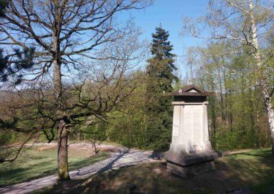 Nad Památníkem umučených lesníků