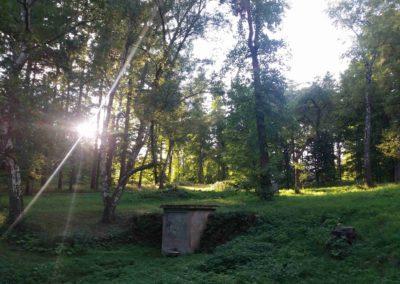 Palouk U Srnce i v době západu slunce nabízí pěkné pohledy