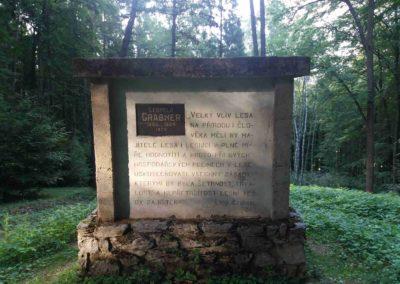 Památník Leopolda Grabnera - česká část