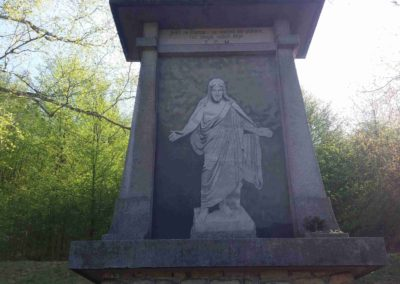 Památník umučených lesníků
