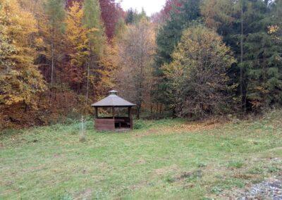 Přístřešek ve Wiehlově údolí