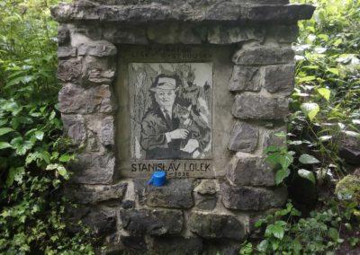 Studánka Stanislava Lolka nedaleko Resslova památníku